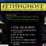 Fetish Ghost's Secret Studio Diary