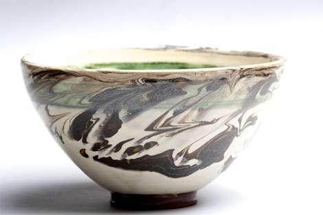 angela walford: marbled bowl