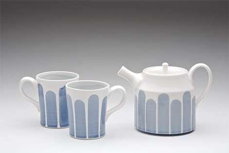 heather braun-dahl: teapot and cups