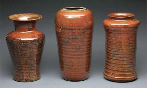 """vases - brandon """"fuzzy"""" schwartz"""