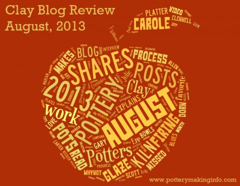 Clay Blog Review: August 2013