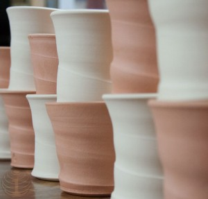 bisque fired cups