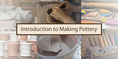 pottery making introduction: clay and tools, forming, glazing and firing pottery