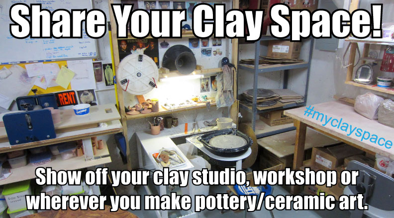 clay space, pottery studio