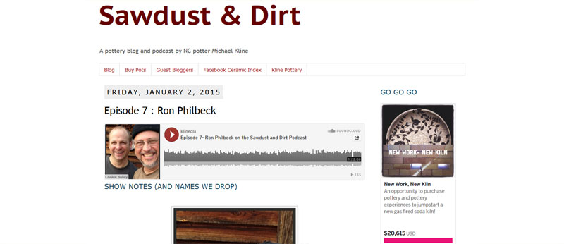 sawdust and dirt podcast