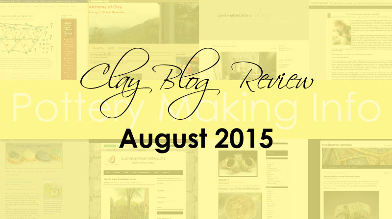 Clay Blog Review: August 2015