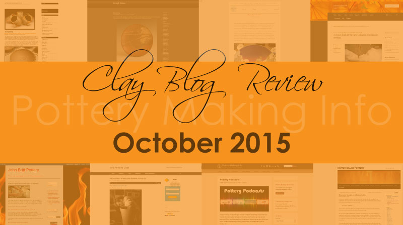 Clay Blog Review: October 2015