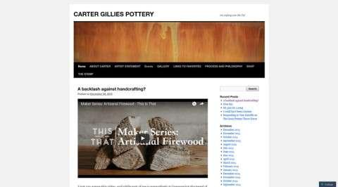Carter Gillies Pottery