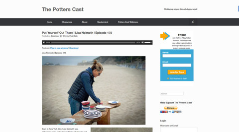 The Potters Cast
