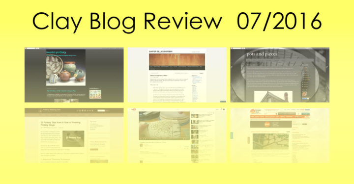 Clay Blog Review: July 2016