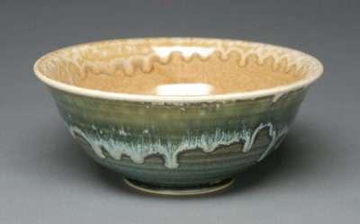 wheel thrown bowl by Brandon Schwartz