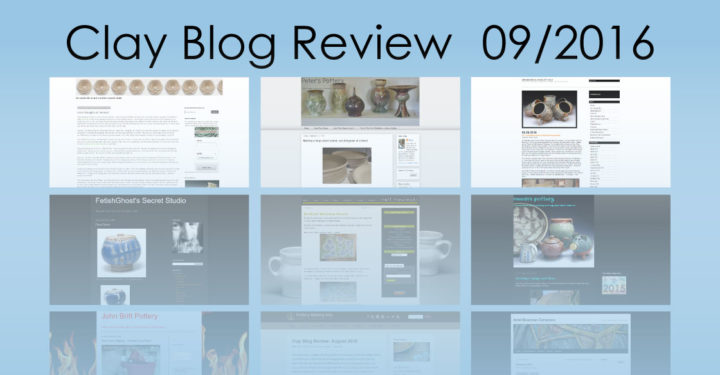 Clay Blog Review - September 2016