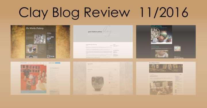 Clay Blog Review: November 2016