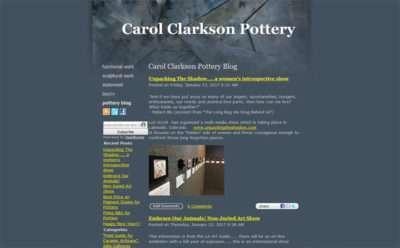 Carol Clarkson Pottery