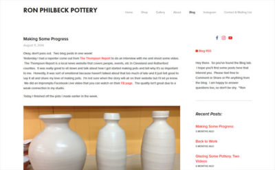 Ron Philbeck Pottery