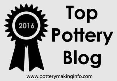 top pottery blog badge - gray