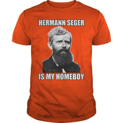 Pottery Shirt: Hermann Seger is my homeboy