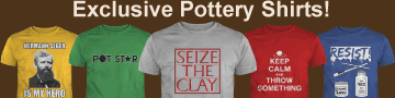 exclusive pottery shirts sold here