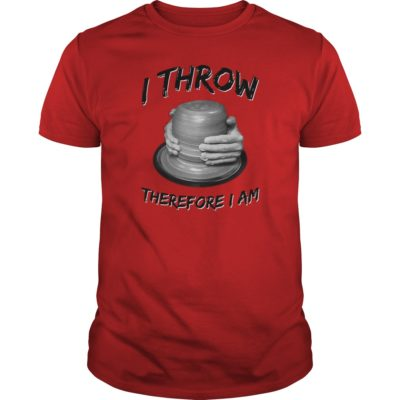 I throw, therefore I am (dark text)