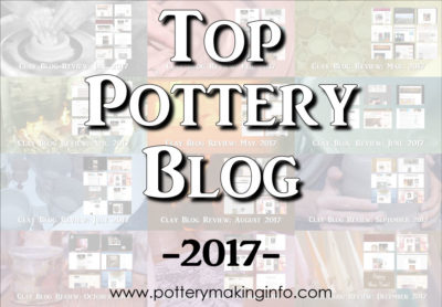 Top Pottery Blog Badge - Color