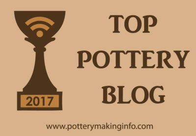 Top Pottery Blog Badge - Brown