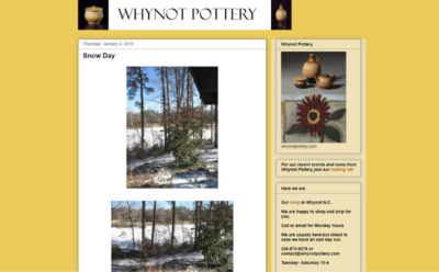 whynot pottery