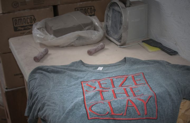Pottery gifts: shirts for potters